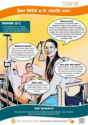 MSV e.V. Plakat Denise