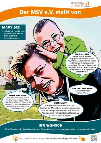 MSV e.V. Plakat Mary