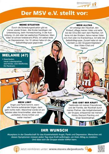 MSV e.V. Plakat Melanie